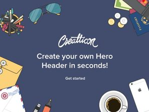 Hero Header Example 1