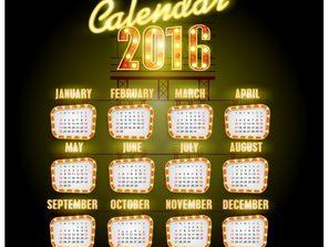 Design  to: 2016 calendar