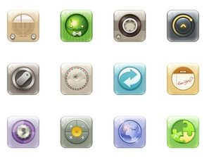 round corner rectangular phone app me PNG icon