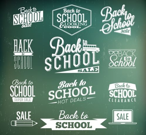 12, of backtoschool art, name, label, vector graph