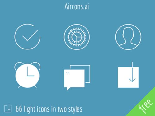 Aircons  66 light icons