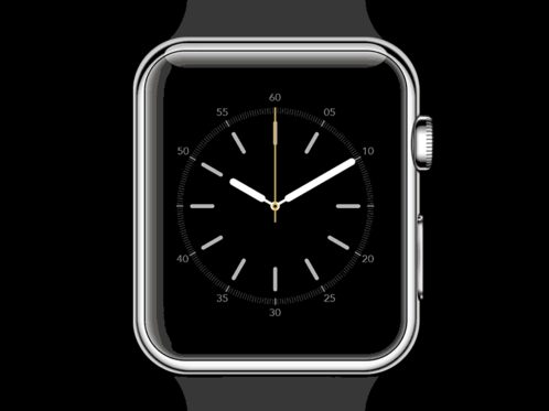 Watch Face Animation gif + vector