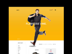 Online Shop Suity FREE PSD