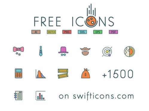 96x3 Free Icons