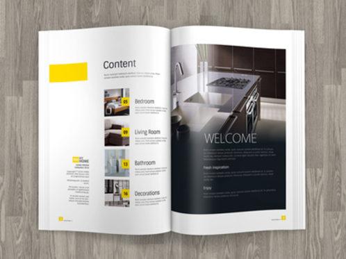 A4 Brochure / Magazine Mock up