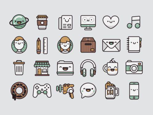 Pamoke: Free Icon Set
