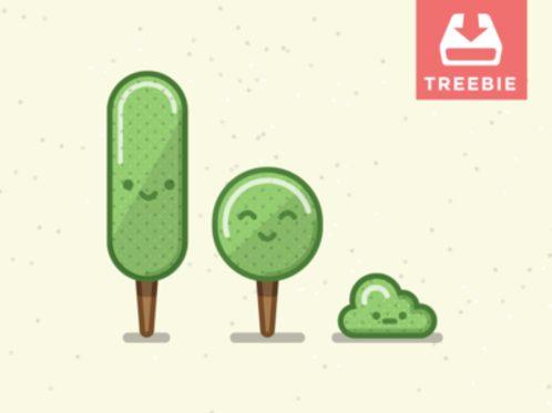 Tree + Freebie  Treebie