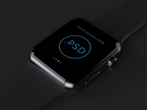 Apple Watch Free Mockup PSD_ver.2