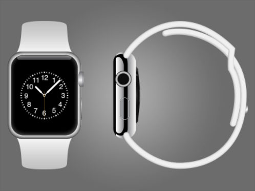 Apple Watch Vector Mockup
